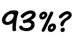 93 Percent?