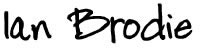 Ian Brodie Signature