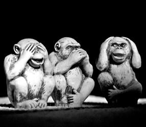 Ethical Selling: Three wise monkeys