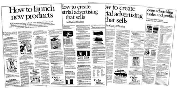 """These """"House Ads"""" from Ogilvy & Mather from the 60s/70s Are Early Examples Of Valuable Content Being Used to Drive Sales"""