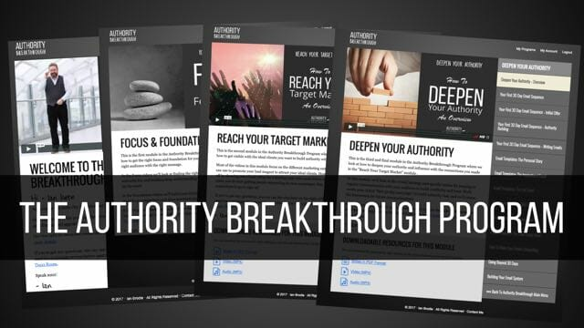 The Authority Breakthrough Program