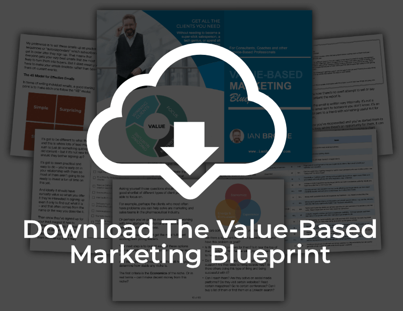 Download the Value-Based Marketing Blueprint